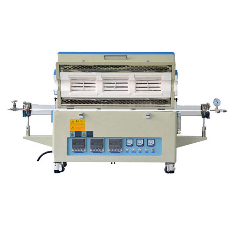 OTL1200-1200-1200三温区管式炉