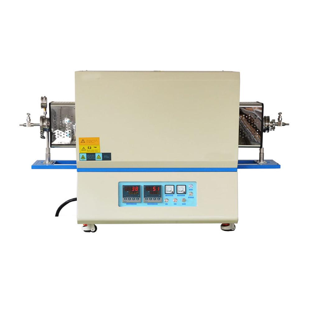 KTL1700-1400双温区管式炉